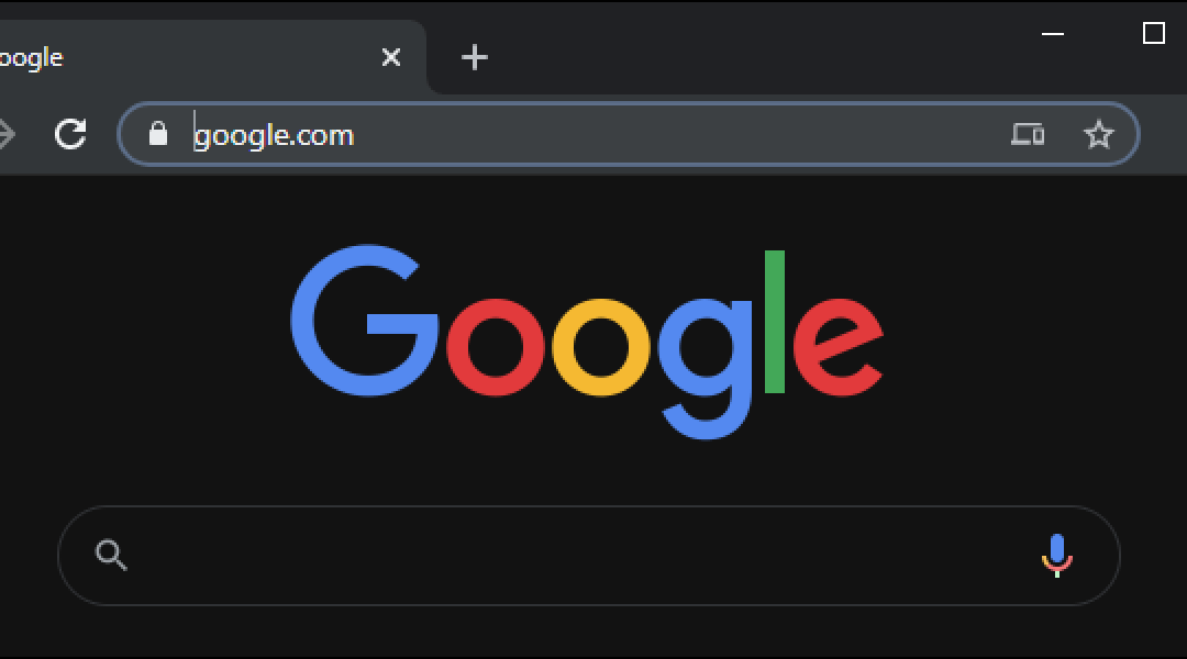 Google testa la Dark Mode