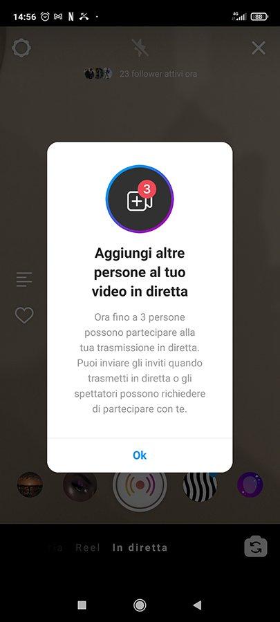 Live Room Instagram
