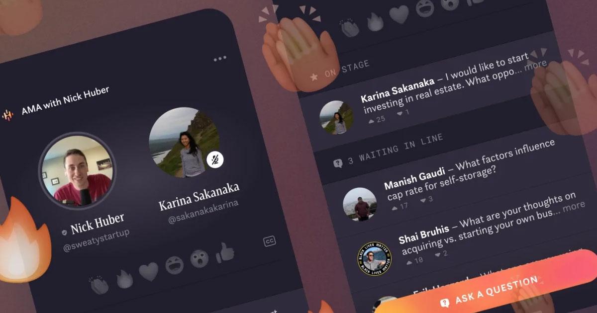 Facebook crea Hotline in risposta a Clubhouse