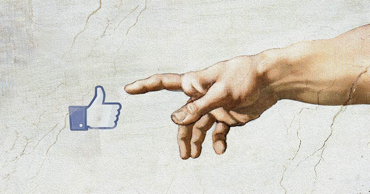 Copertura organica Facebook