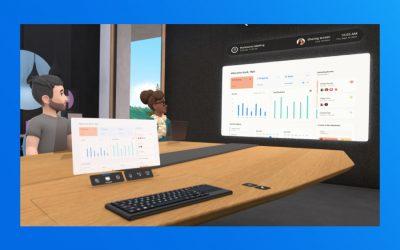 Il Metaverso di Facebook inizia a prendere forma con Horizon Workrooms